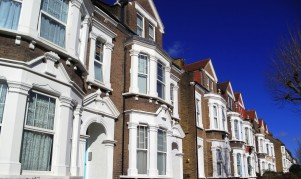 Victorian terraced houses